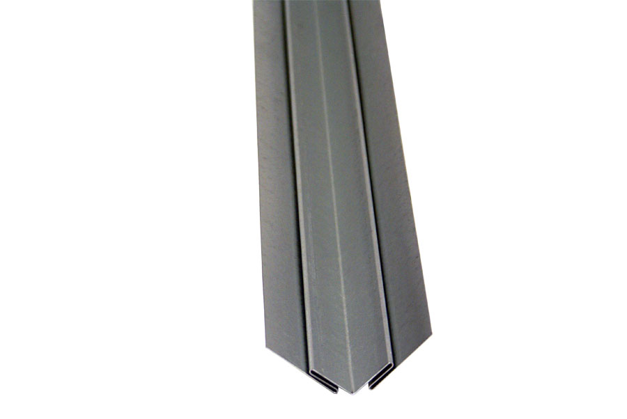 The Inside Corner Trim Molding Is Made From Our 24 Gauge Galvanized Steel Sheet Stock Used To Join Two Sheets At 90 On An