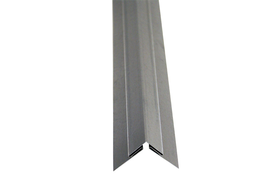 The Outside Corner Trim Molding Is Made From Our 24 Gauge Galvanized Steel Sheet Stock Used To Join Two Sheets At 90 On An