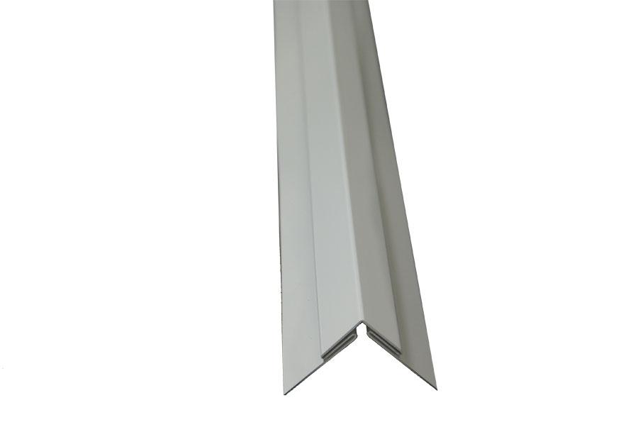 Stainless Supply Trim Molding White Aluminum