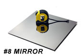316L Stainless Steel Sheet #8 Mirror