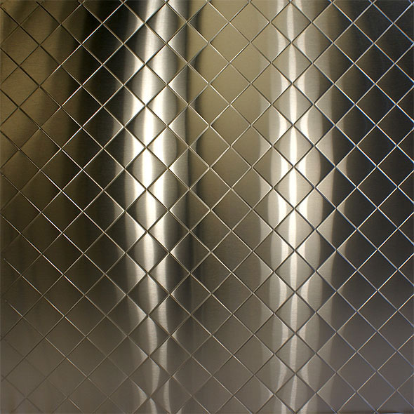 Stainless Supply Stainless Steel Embossed Pattern