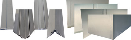 Trim Molding - 316L Stainless #4 Finish