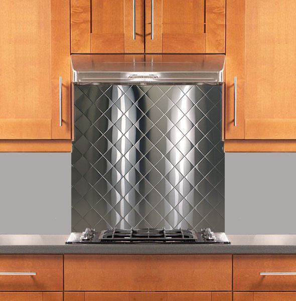 Stainless Steel Backsplash Custom Size Amp Thickness